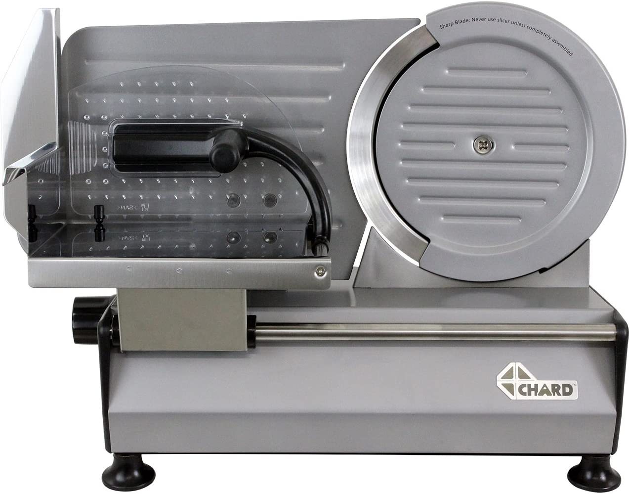 Chard FS-860, Electric Food Slicer, Stainless Steel, 8.6 inch, 150 watts