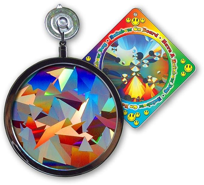 Suncatcher - Crystal Rainbow Window Sun Catcher - Includes a Bonus