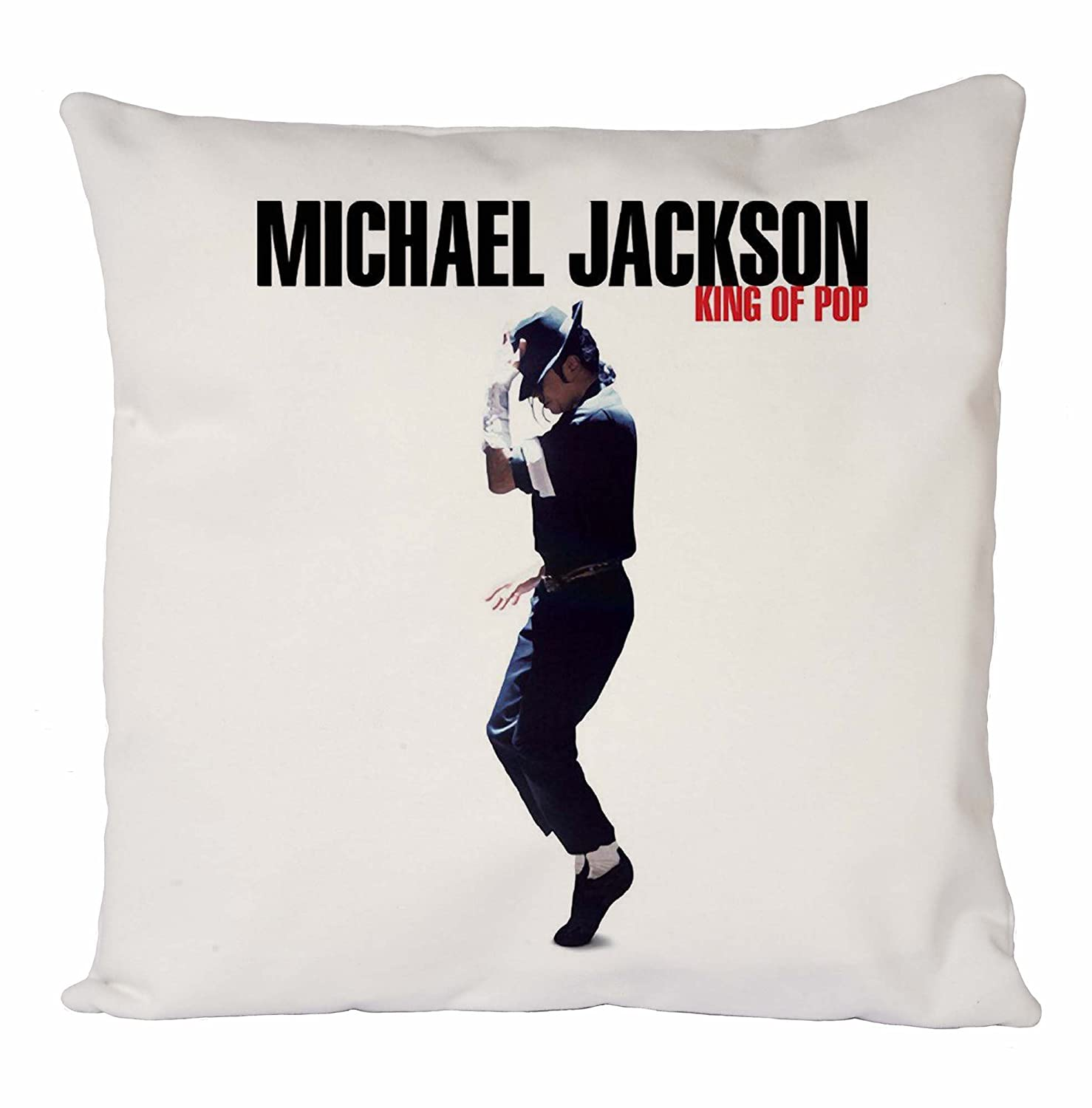 Michael Jackson King of Pop, Fodera, Fodera per Cuscino, Arredamento per la casa Uk print king