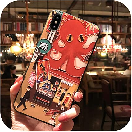 Amazon.co.jp: Sanoy Japanese Food Embossed Phone Case for iPhone 6 ...
