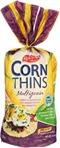 Real Foods Organic Corn Thins - Multigrain - Case of 6 - 5.3 oz.