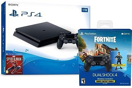 Playstation 4 Fortnite Starter Bundle: Playstation Exclusive Royale Bomber Outfit, 500 V-Bucks