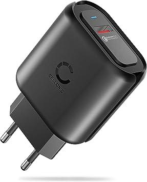 CELLONIC® Cargador USB Pared para móvil Smartphone Tableta ...