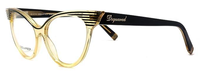 Amazon.com: anteojos Dsquared2 DQ 5104 003, tamaño: 53 – 17 ...