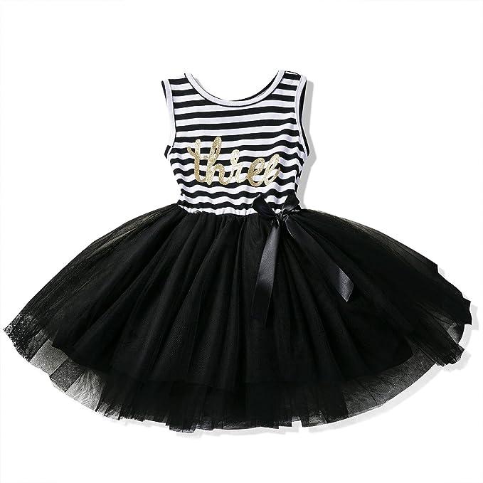 ec01fbafc003 Amazon.com  NNJXD Girl Shinny Stripe Baby Girl Sleeveless Printed ...