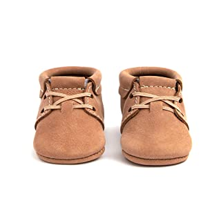 Freshly Picked - Soft Sole Leather Oxford Moccasins - Baby Girl/Boy Shoes - Infant Sizes 1-5 - Multiple Colors