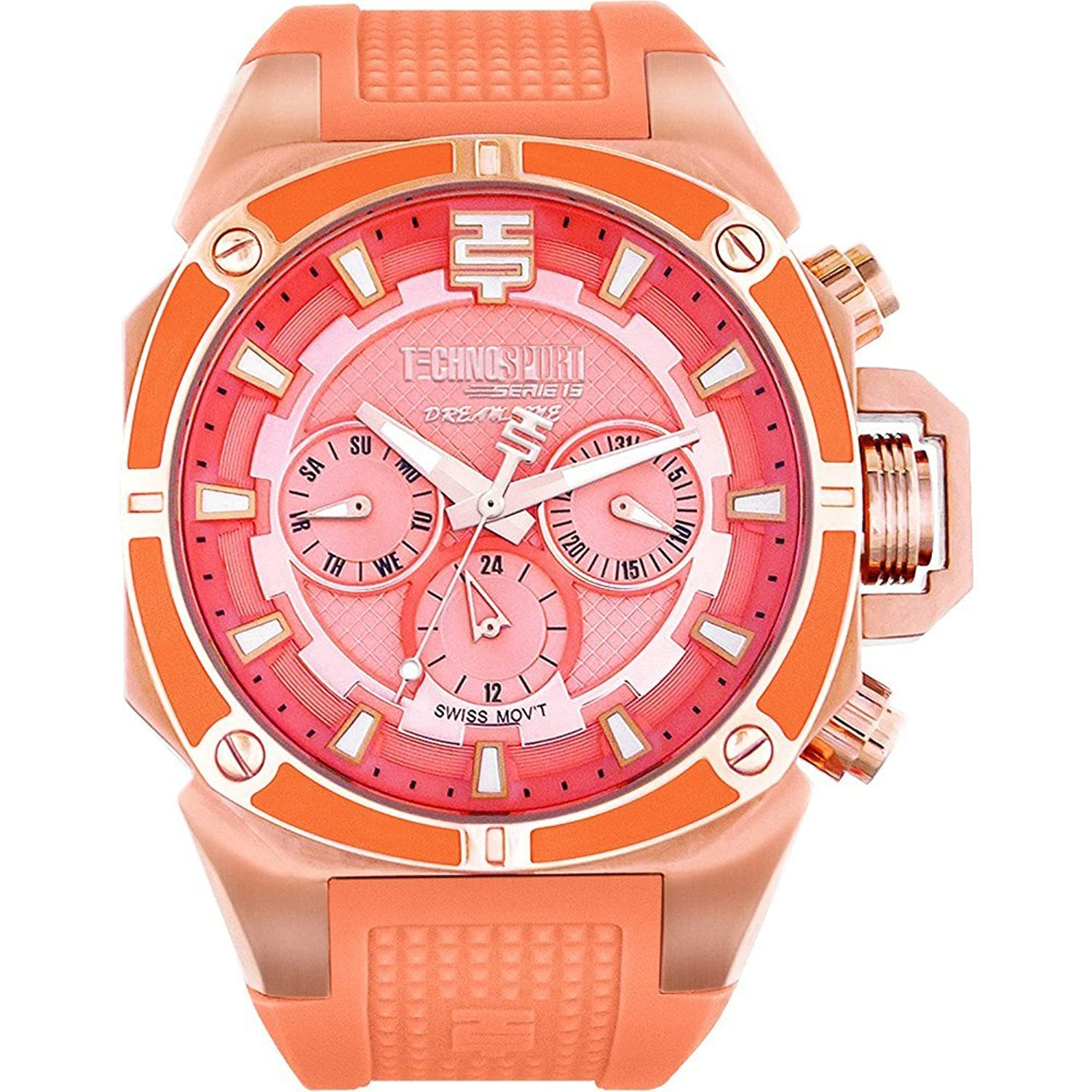 TechnoSport Damen Chrono Uhr - DREAMLINE rose gold