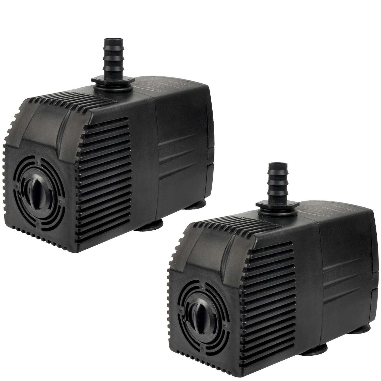 Simple Deluxe LGPUMP400GX2 Fountain Pump, 400 GPH, Black by Simple Deluxe