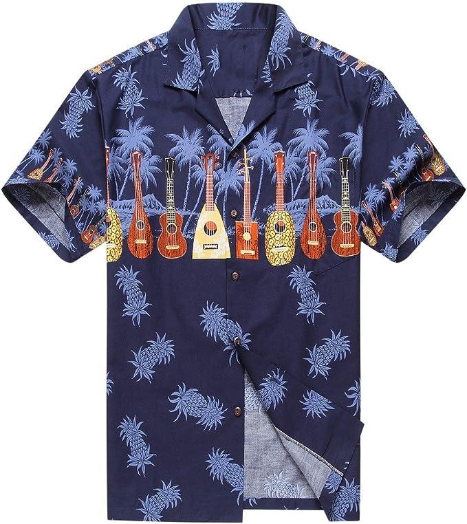 """Mens Made in Hawaii Hawaiian Shirt /""""Hawaiian Elegance/"""" 100/% cotton S-3XL"""