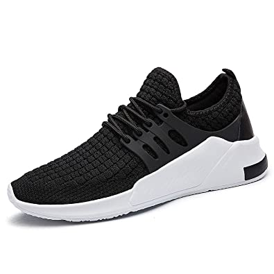QZBAOSHU Running Shoes for Men Casual Slip On Sneakers Walking Jogging Sport  Tennis Trainers 7 US 4709cdaa3ef