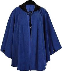 85de30ff97078 PurpleHanger Women s Plus Size Fleece Poncho Cape Coat