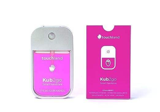 Amazon.com: touchland Kub2go desinfectante de manos tamaño ...