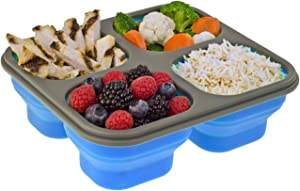 Smart Planet Light Lunch Meal Kit Food Storage, 32 oz, Blue