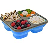 Smart Planet Portion Perfect Meal Kit Lunch Light with Spork, 32 oz, Blue