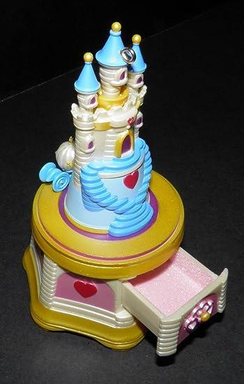 Amazoncom Disney 2006 Hallmark Jewelry Music Box Cinderella Castle