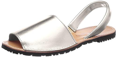 Tamaris 28916 Sandali con Cinturino alla Caviglia Donna Argento Silver