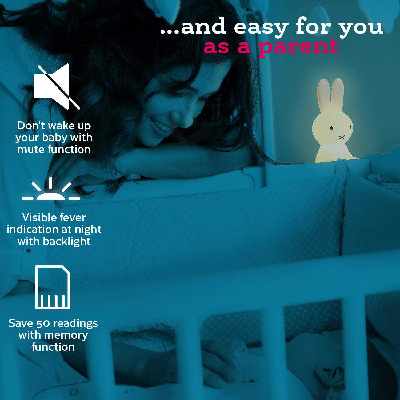 Amazon.com: Termómetro para bebé fácil y rápido sin tocar ...