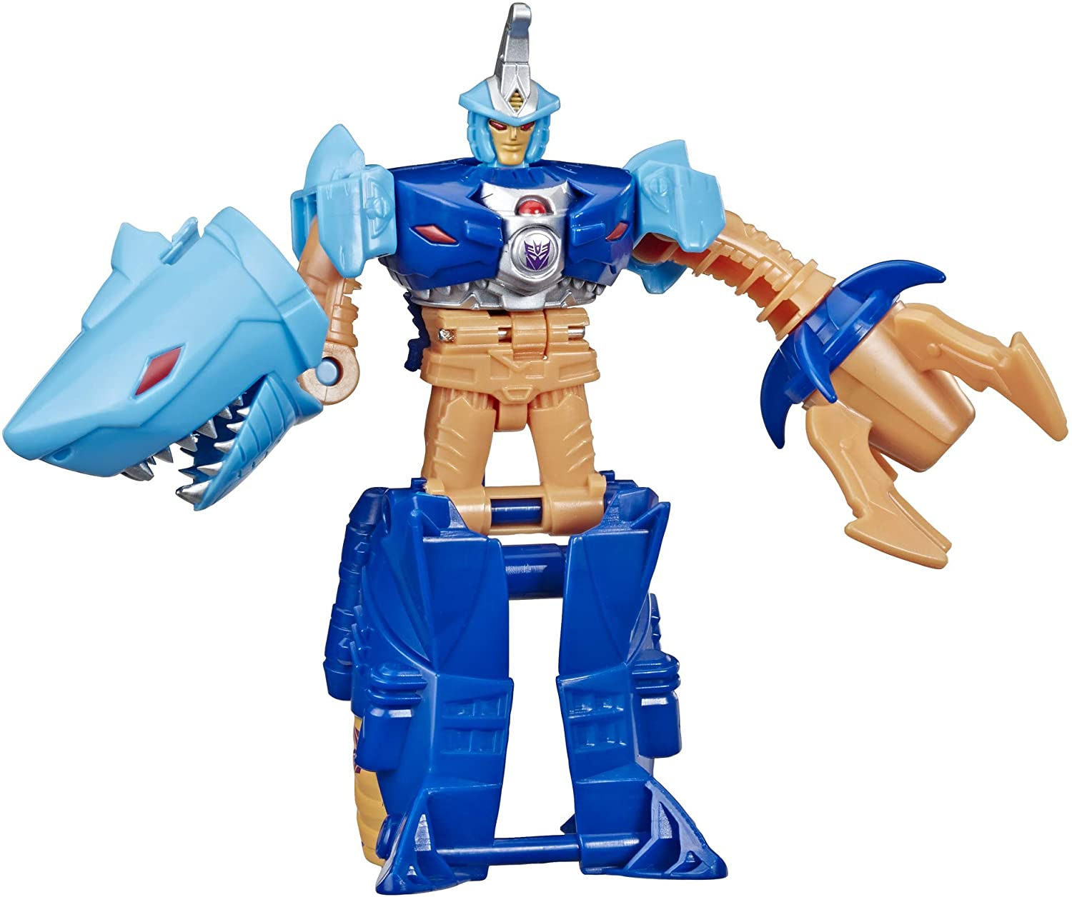 Transformers Toys Cyberverse Action Attackers: 1-Step Changer Skybyte Action Figure - Repeatable Driller Drive Action Attack - for Kids Ages 6 & Up, 4.25""