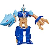 """Transformers Toys Cyberverse Action Attackers: 1-Step Changer Skybyte Action Figure - Repeatable Driller Drive Action Attack - for Kids Ages 6 & Up, 4.25"""""""