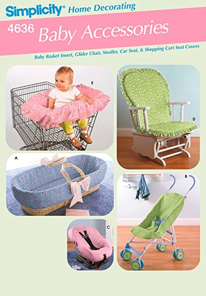 Surprising Simplicity 4636 Baby Accessories Baby Basket Insert Glider Chair Stroller Car Seat Shopping Cart Covers Spiritservingveterans Wood Chair Design Ideas Spiritservingveteransorg