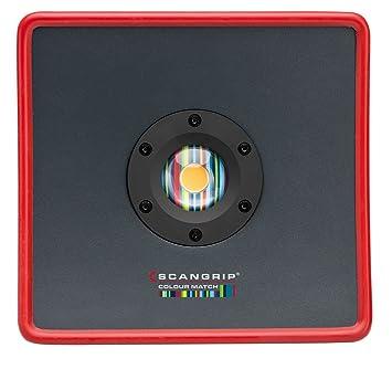 Scangrip 03.5448 D-Match 2 Baustrahler f/ür perfekte Farbanpassung COB-LED