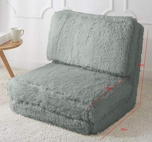 Urban Shop Long Hair Convertible Flip Chair