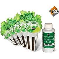 AeroGarden Salad Greens Mix Seed Pod Kit (6-Pod), 2 Pack