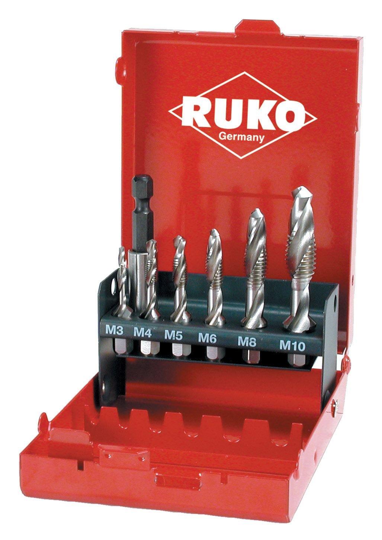 Ruko 270020-R - Juego de 6 machos de roscar combinados (M3 - M10) + portapuntas magné tico RUKO GmbH