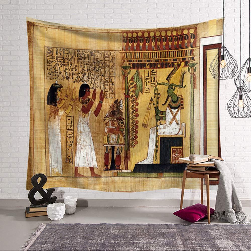 Hippie Poliestere Stampa Home Decor tappeti da Parete Casual Picnic Telo Mare Morbuy Arazzo da Parete Grande Antico Egitto