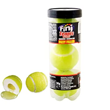Amazon.com : Fini Tennis Balls chewing gum (3 x 36g ...