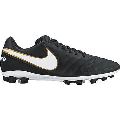 579be6b1d5aa5 Nike Men's Tiempo Mystic V AG-R Football Boots, (Black/White ...