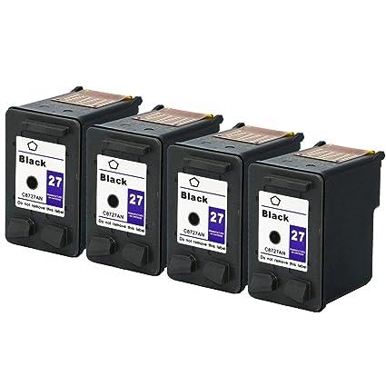 Teng® 27/28 Cartuchos de Tinta compatibles con Impresora HP ...