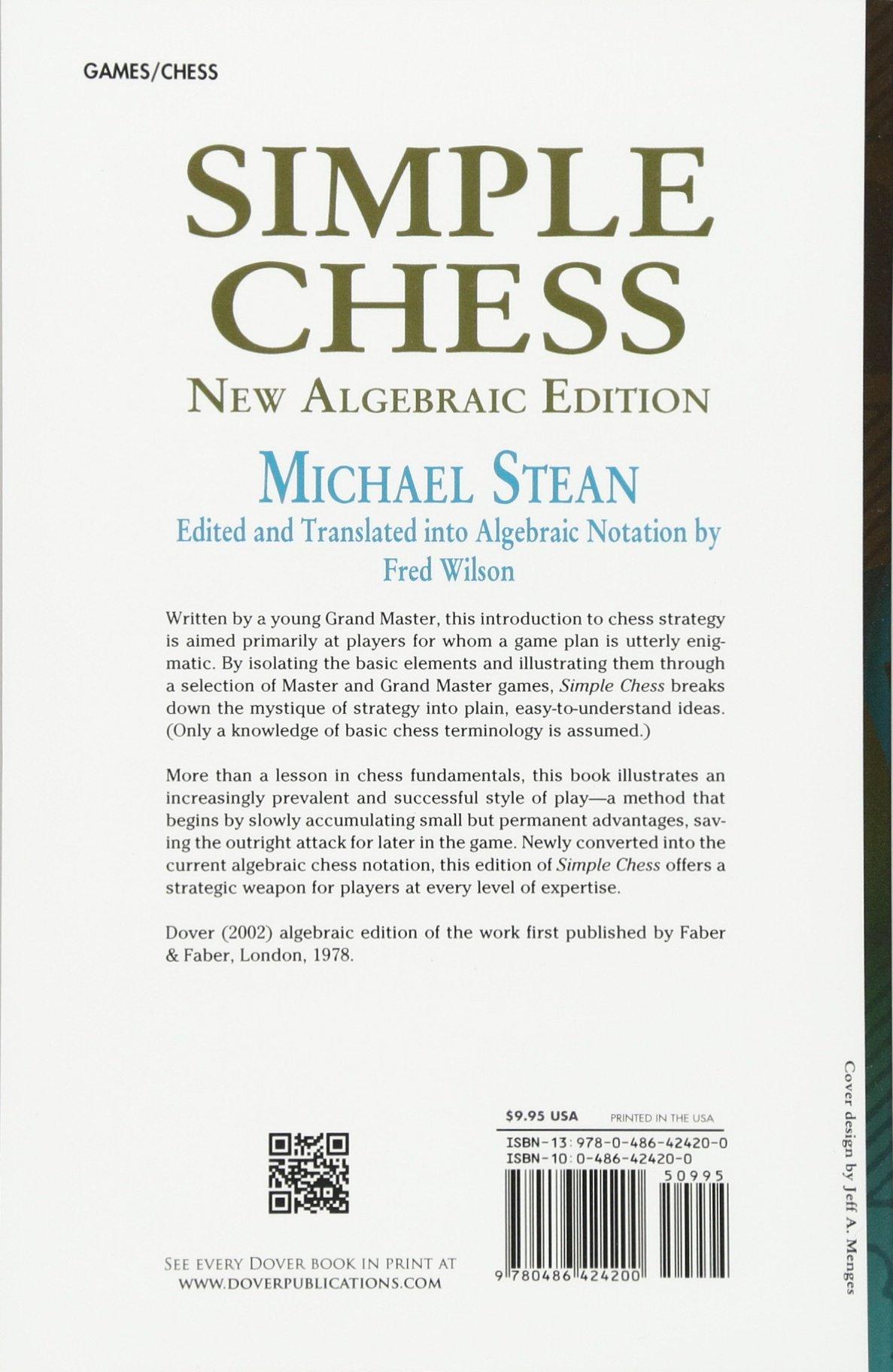 Simple Chess (Dover Chess): Amazon.de: Michael Stean: Fremdsprachige ...