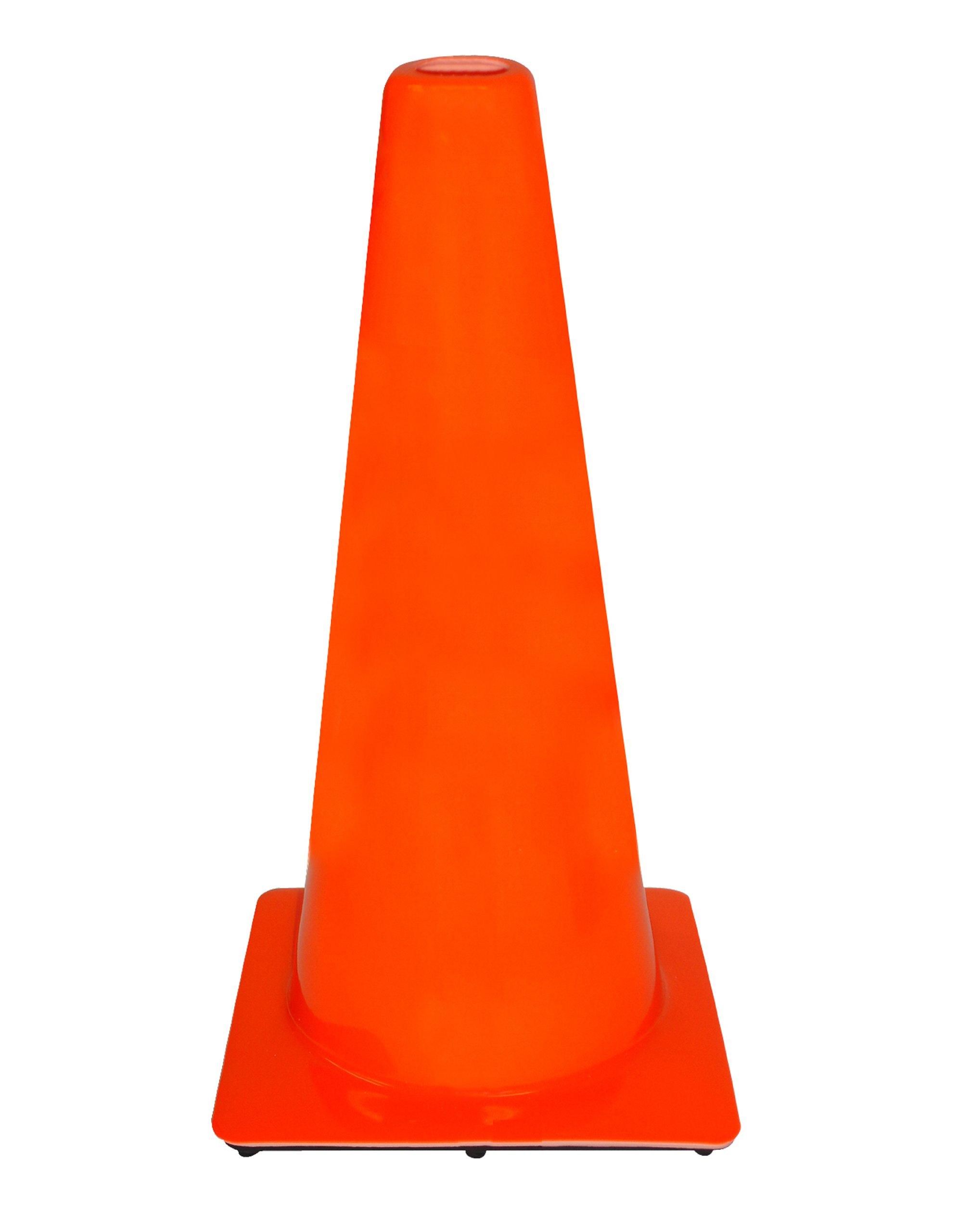 3M 90129-00002 PVC Traffic Safety Cone, 28-Inch