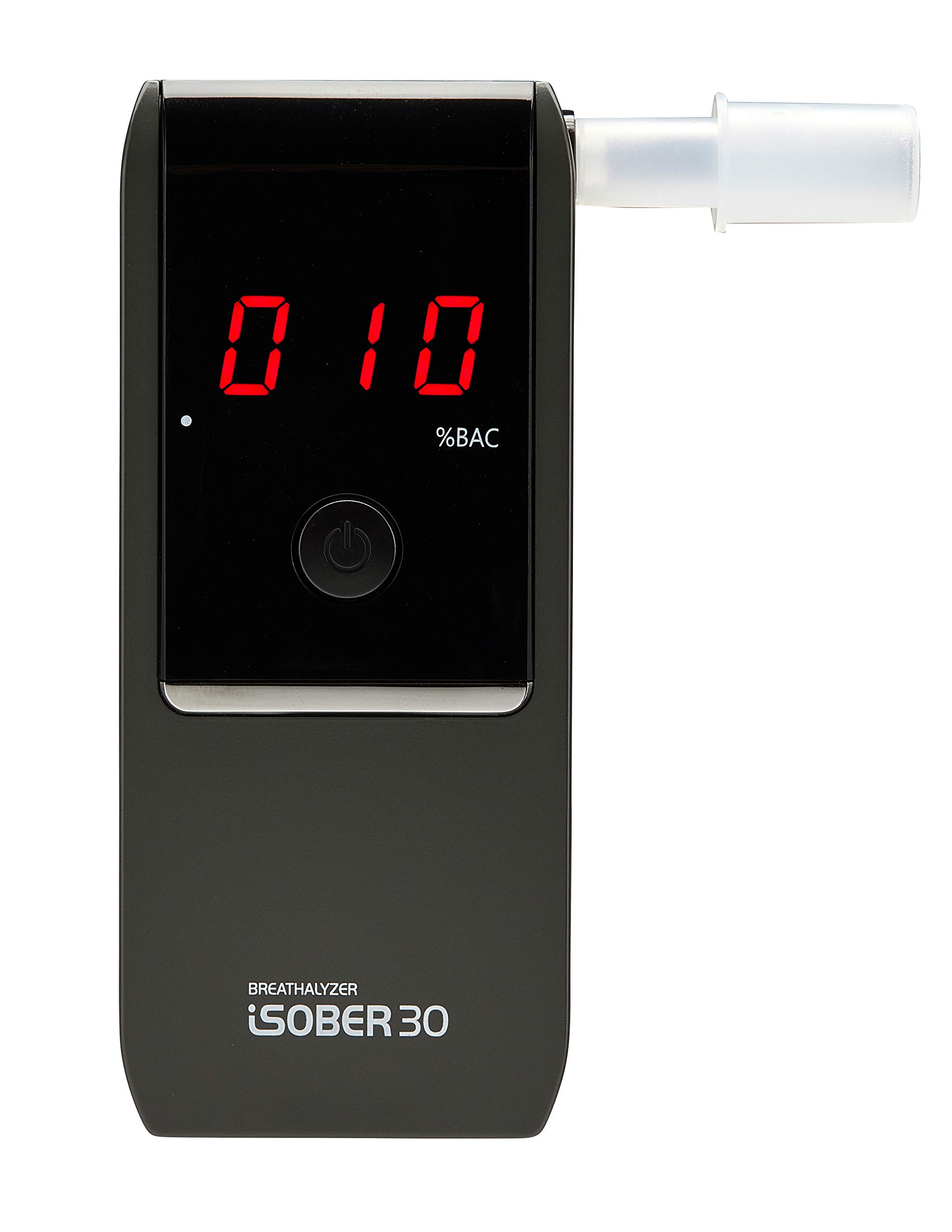 iSOBER 30 Breathalyzer | Best Accuracy Award Wining Portable Breath Alcohol Tester in EU | Cleared 33 Breathalyzer Test Requirements by Accredited Test Laboratory in Sweden for 12 Months