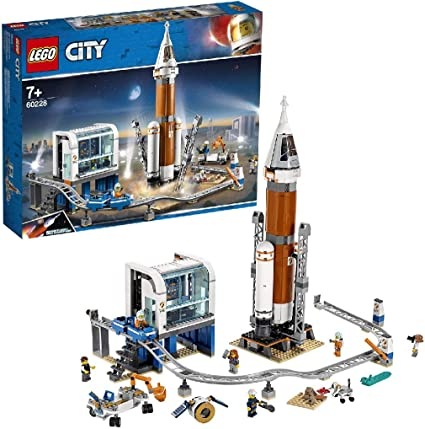Lego 60224 City Satellite mission de service Mini EXPLORATION SPATIALE NAVETTE Playset