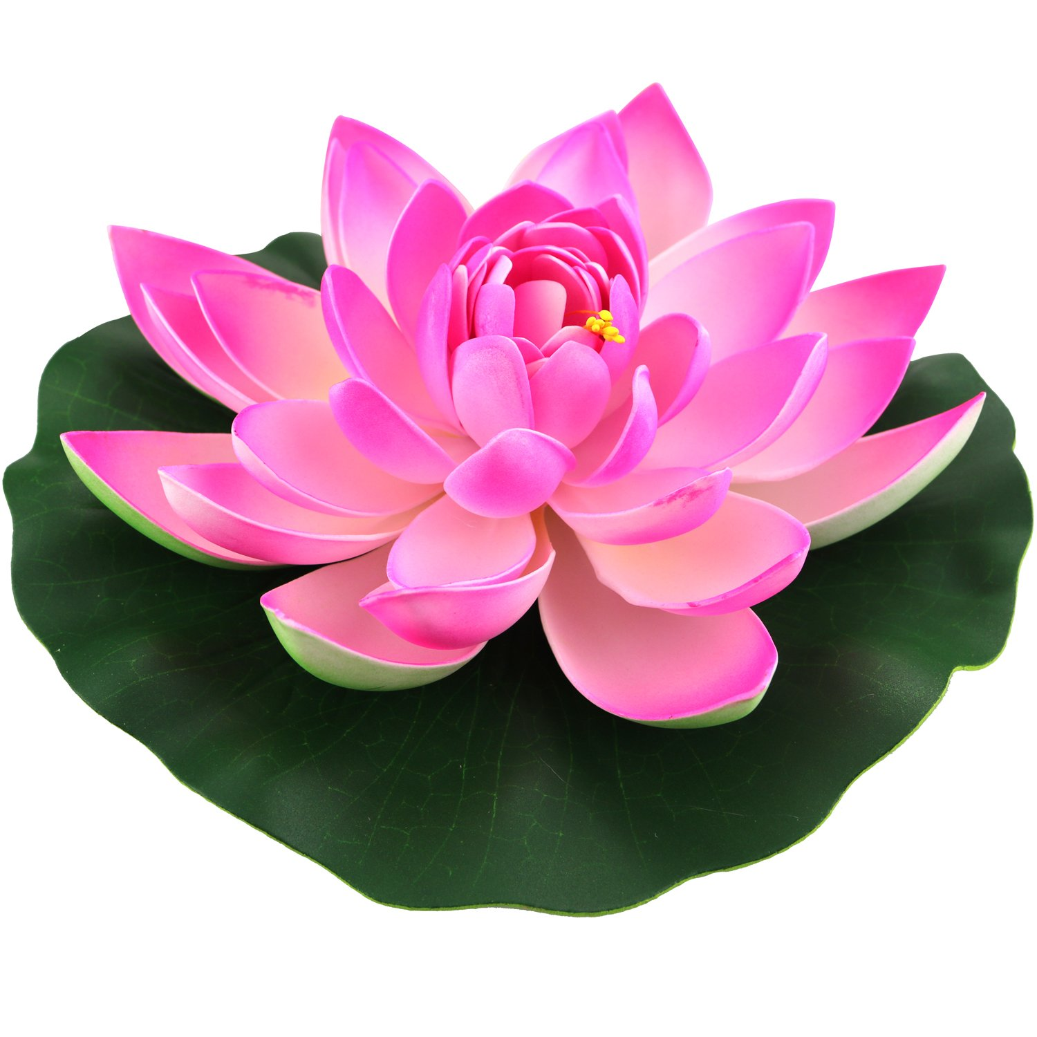 Amazon Lightingsky Artificial Floating Foam Lotus Flower Pond