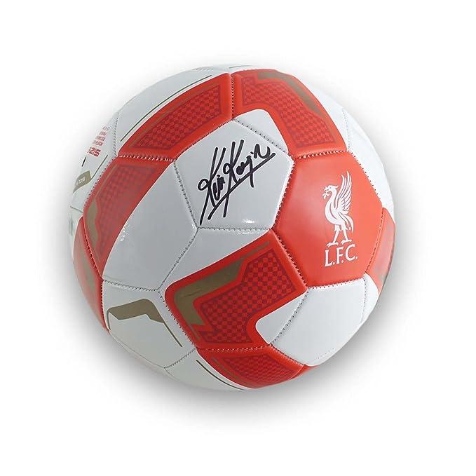Exclusivo balón de fútbol Firmado por Kevin Keegan Liverpool ...