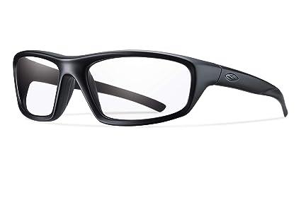 f7016bd0e3b Amazon.com  Smith Optics Director Tactical Sunglass with Black Frame ...