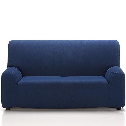 Jarrous Funda de Sofá Elástica Modelo ARUCAS, Color Azul C/4 ...