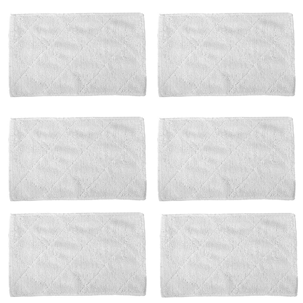 BBT(BAMBOOST) Steam Mop Pads Fit for Light N Easy S3601 Steam Mops Replacement,Pack of 6 by BBT(BAMBOOST)