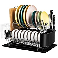 Deals on Rocita 2 Tier 304 Stainless Steel Dish Rack