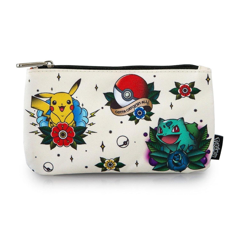 Pokemon Flash Tattoo Starters Pencil Bag