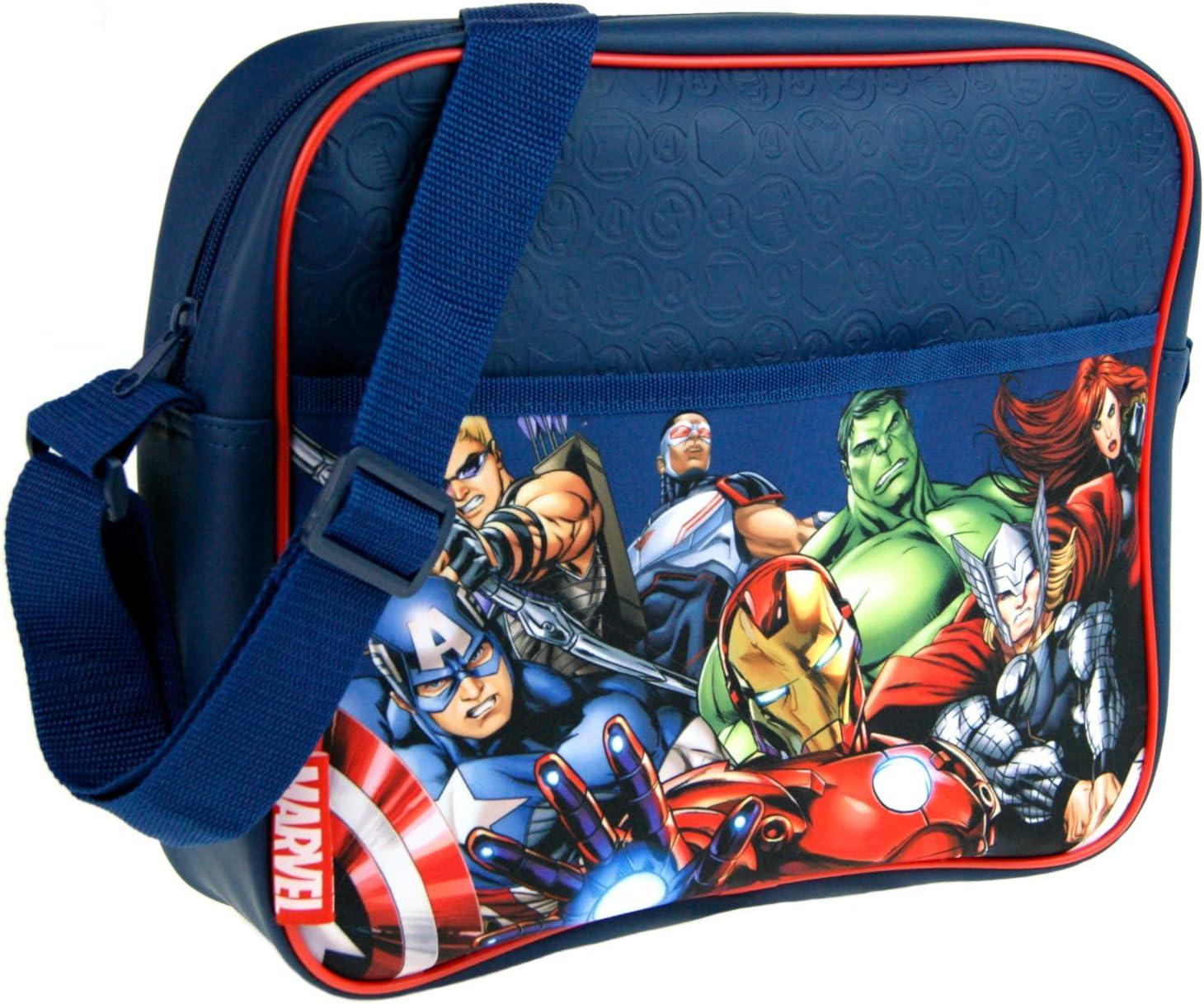 Black Marvel Avengers Laptop Messenger