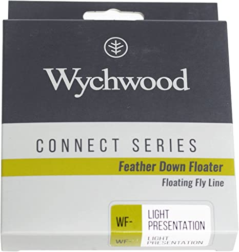 WYCHWOOD CONNECT SERIES FEATHER DOWN FLOATER WEIGHT FORWARD WF 3 4 5  FLY LINE