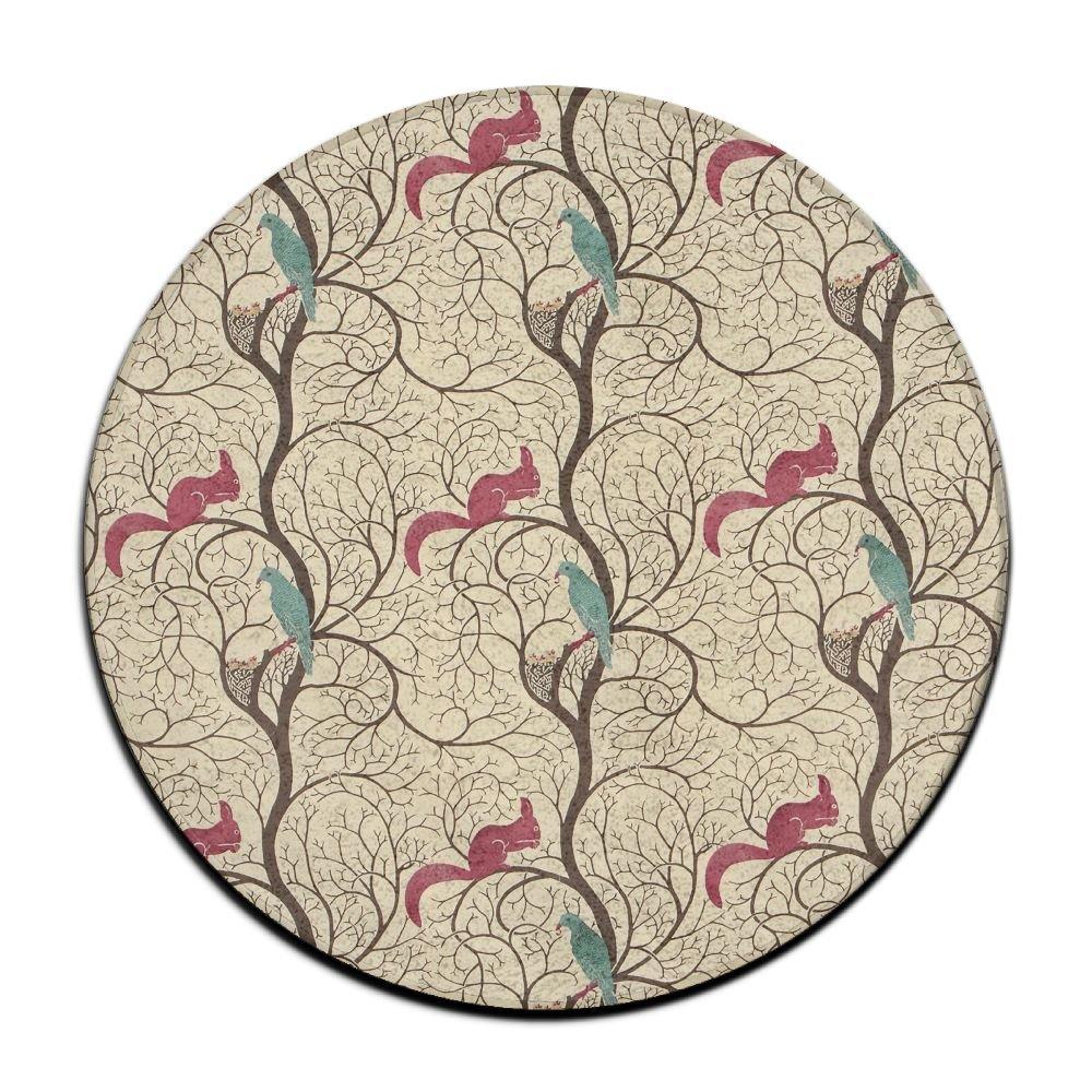 Amazon.com: Círculo cuarto de baño alfombra de franela extra ...