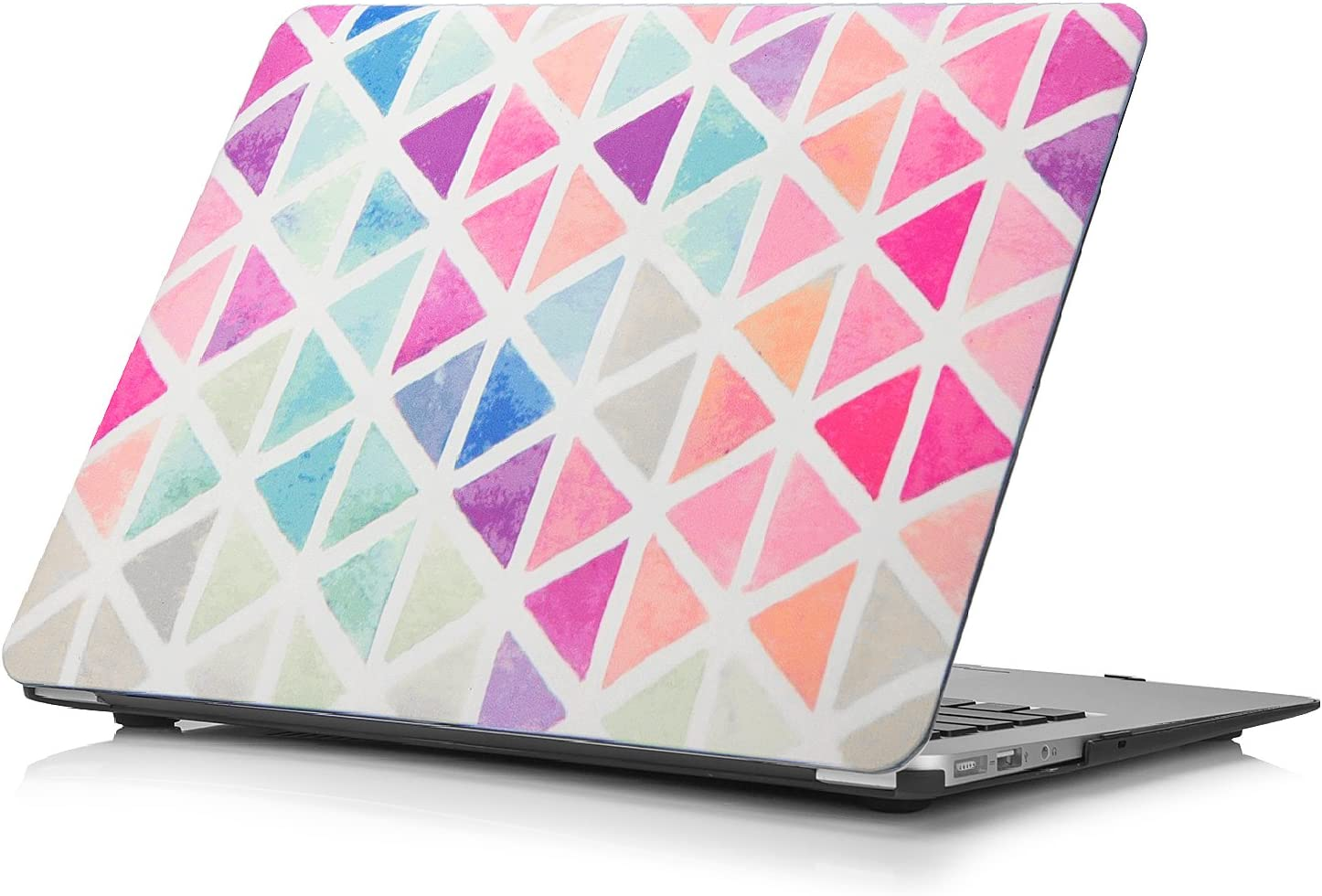 Funut Compatible with MacBook Air 13 Inch Case, Hard Plastic Protective Case Air 13.3 Scratch-Free Rubberized Case Cover for 2010-2017 Older MacBook Air 13.3