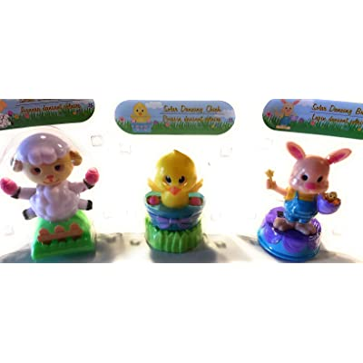 Solar Dancing Bunny Rabbit, Chick and Lamb Bundle: Toys & Games