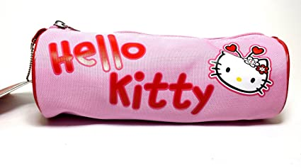 Estuche Tombolino Hello Kitty rosa Baúl Escuela Puerta ...