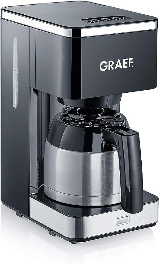 Graef FK412EU 900 - Cafetera de filtro, color negro: Amazon.es: Hogar